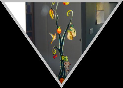 Vitrail : L'arbre de vie